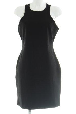 H&M Stretchkleid schwarz Business-Look