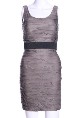 H&M Stretchkleid braun Business-Look