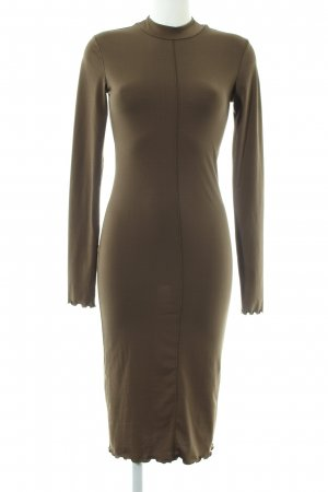 H&M Stretchkleid bronzefarben Casual-Look