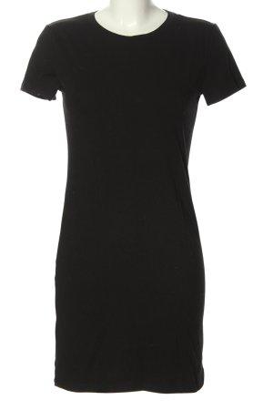 H&M Abito elasticizzato nero stile casual