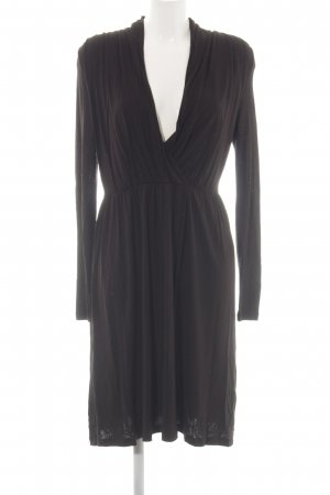 H&M Stretchkleid braun Casual-Look