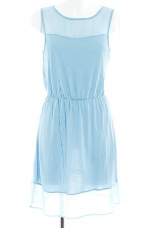 H&M Stretchkleid babyblau Casual-Look