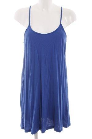 H&M Stretchkleid blau Casual-Look