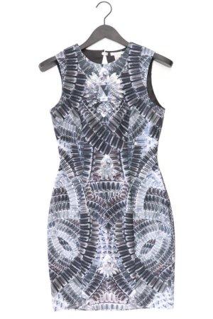 H&M Stretchkleid Größe 36 neuwertig Ärmellos grau aus Polyester