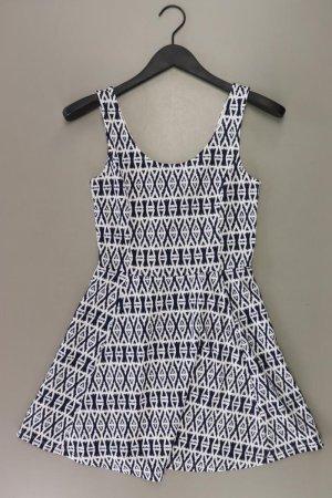 H&M Stretchkleid Größe 38 Träger weiß aus Baumwolle