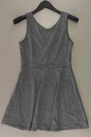 H&M Stretchkleid Größe 40 Ärmellos grau aus Polyester