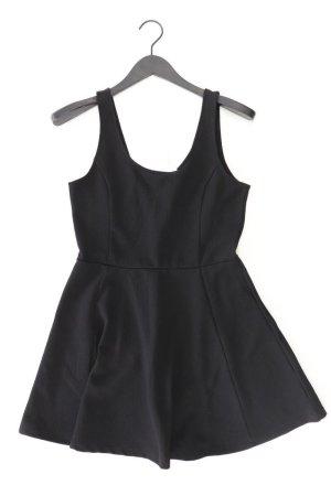H&M Stretchkleid Größe 42 Träger schwarz