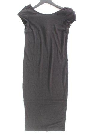 H&M Stretchkleid Größe S Kurzarm schwarz