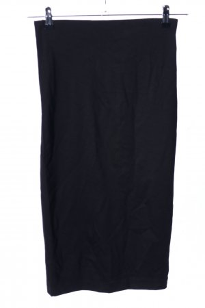 H&M Stretch Skirt black casual look