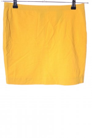 H&M Gonna stretch giallo pallido stile casual