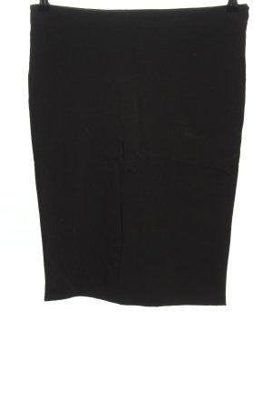 H&M Stretchrock schwarz Business-Look