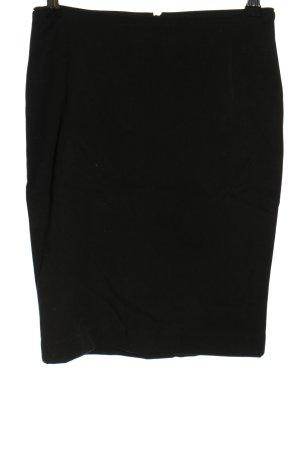 H&M Stretchrock schwarz Casual-Look