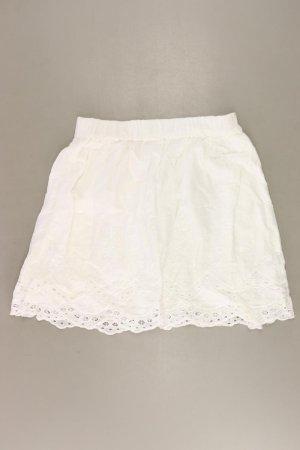 H&M Stretchrock Größe 36 weiß aus Baumwolle