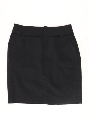 H&M Stretchrock Größe 38 schwarz aus Polyester