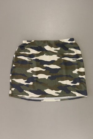 H&M Spódnica ze stretchu oliwkowy Wiskoza