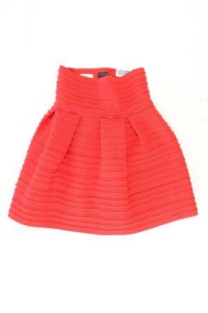 H&M Stretchrock Größe S rot aus Polyester