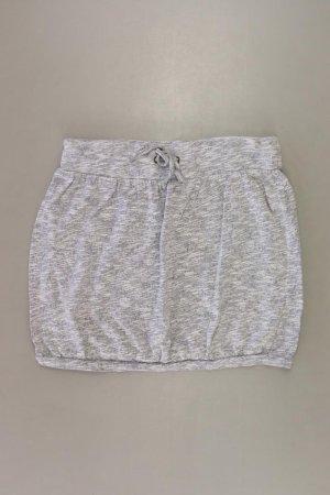 H&M Stretchrock Größe UK 12 grau aus Baumwolle