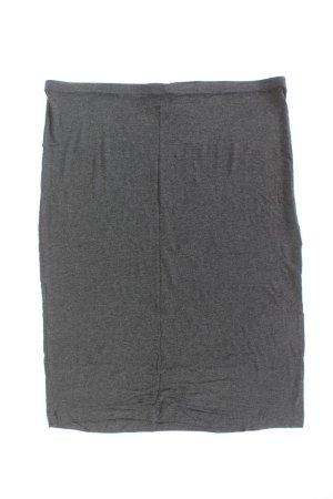 H&M Stretchrock Größe XL grau aus Viskose