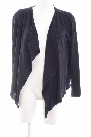 H&M Strick Cardigan lila Casual-Look
