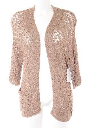 H&M Strick Cardigan beige-nude Webmuster Casual-Look
