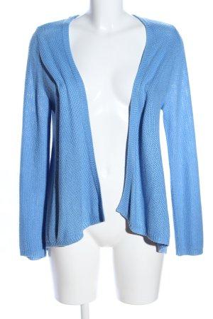 H&M Strick Cardigan blau Casual-Look