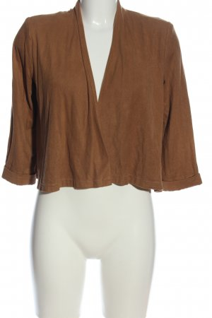 H&M Strick Cardigan braun Casual-Look