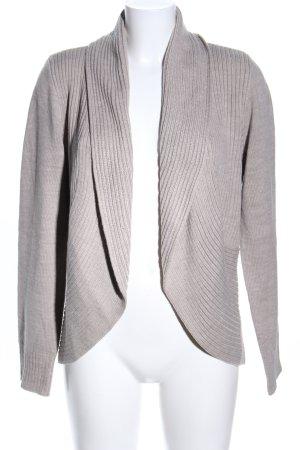 H&M Cárdigan de punto gris claro look casual