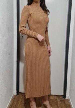 H&M Strick Kleid Midi