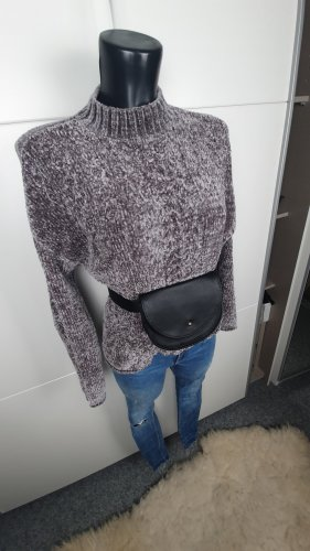 H&M L.O.G.G. Cable Sweater light grey-grey