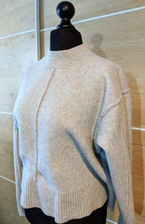 H&M Pullover in cashmere grigio chiaro Cachemire