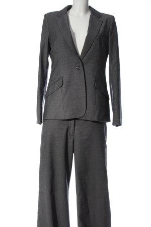 H&M Tailleur-pantalon gris clair moucheté style décontracté