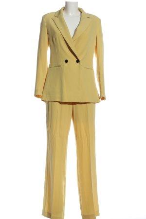 H&M Twin Set punto amarillo pálido estilo «business»