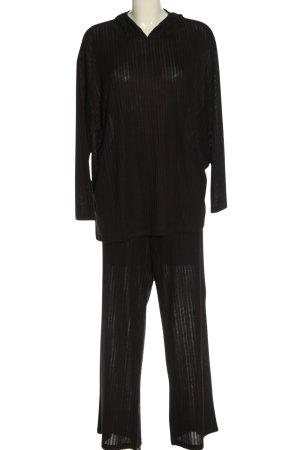 H&M Twin Set punto negro moteado look casual