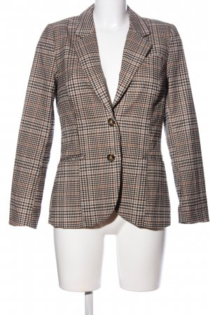 H&M Strickblazer Karomuster Casual-Look