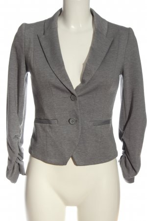 H&M Knitted Blazer light grey flecked business style