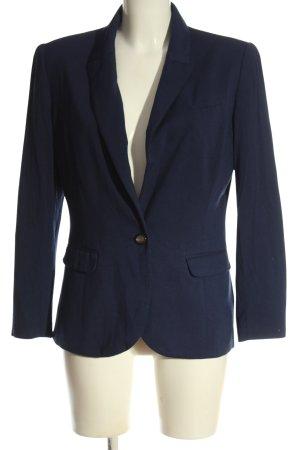 H&M Blazer en maille tricotée bleu style d'affaires