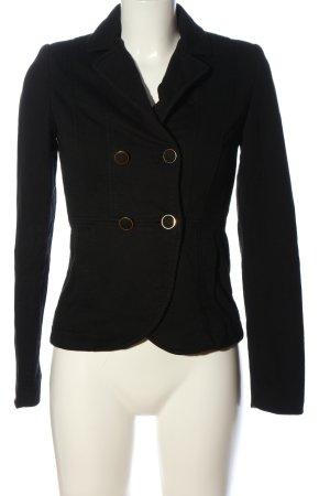 H&M Blazer in maglia nero stile casual