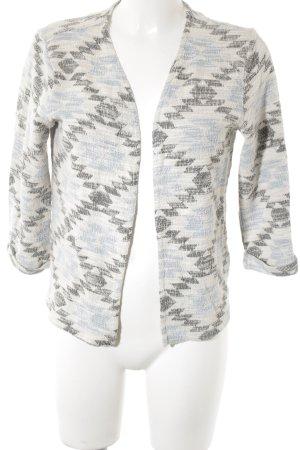 H&M Strickblazer abstraktes Muster Casual-Look
