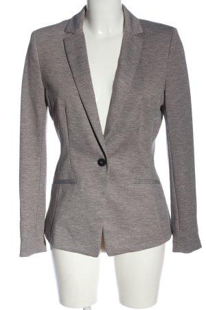 H&M Blazer in maglia grigio chiaro puntinato stile professionale