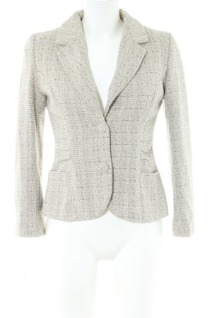 H&M Knitted Blazer light grey business style