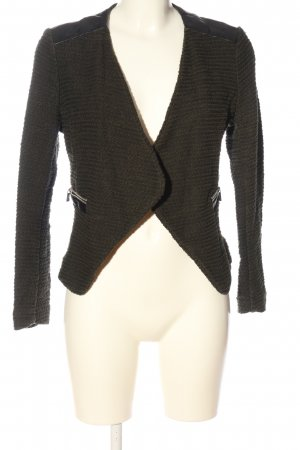 H&M Knitted Blazer khaki themed print casual look
