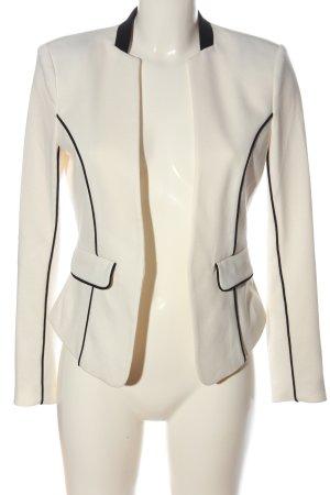 H&M Blazer in maglia bianco stile professionale