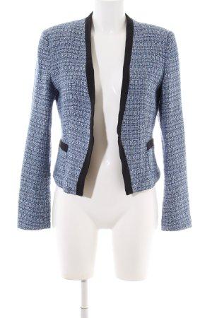 H&M Blazer in maglia motivo a quadri stile professionale