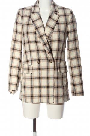 H&M Knitted Blazer check pattern casual look