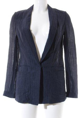 H&M Jerseyblazer stahlblau-graublau Casual-Look