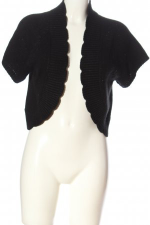 H&M Knitted Bolero black casual look