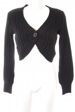 H&M Strickbolero schwarz Casual-Look
