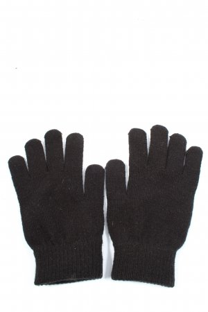 H&M Knitted Gloves black casual look