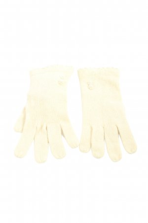 H&M Knitted Gloves cream casual look
