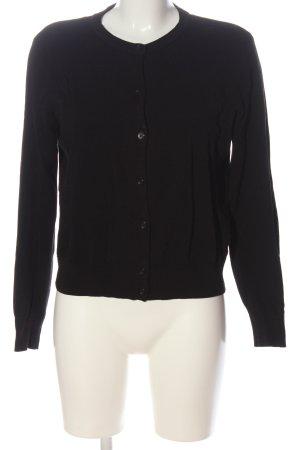 H&M Strickjacke schwarz Elegant